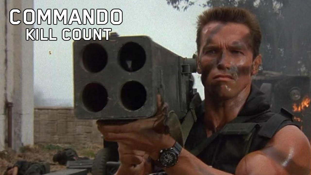 Download Commando (1985) Kill Count