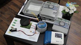видео Оборудование для систем автоматического полива. Особенности установки насоса для полива.