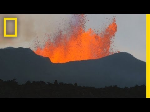 Volcano Super-Team Studies Iceland Eruptions | National Geographic