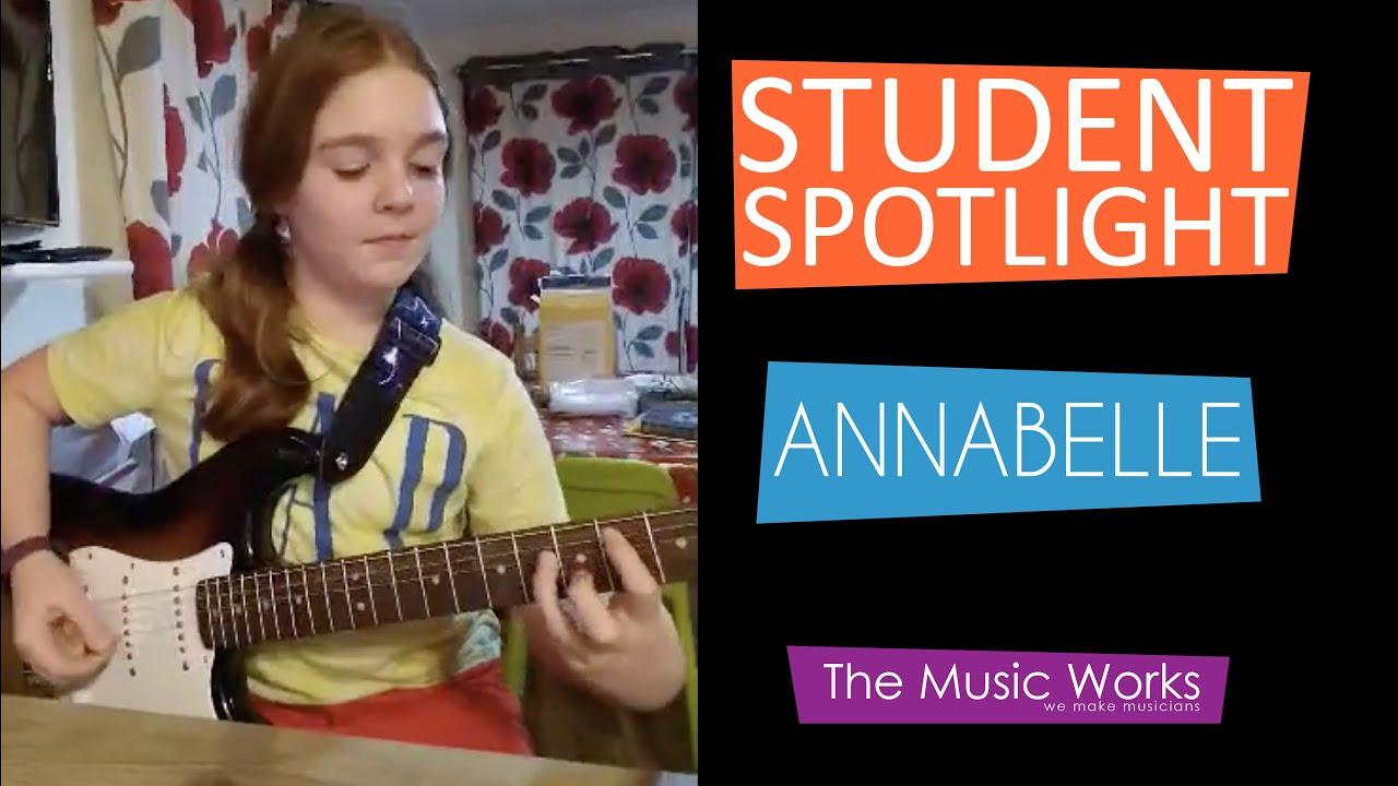 Student Spotlight - Annabelle