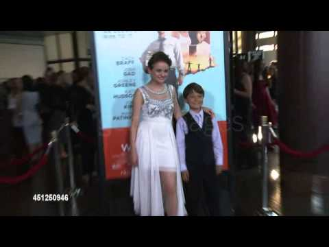 Joey King and Pierce Gagnon arriving at the