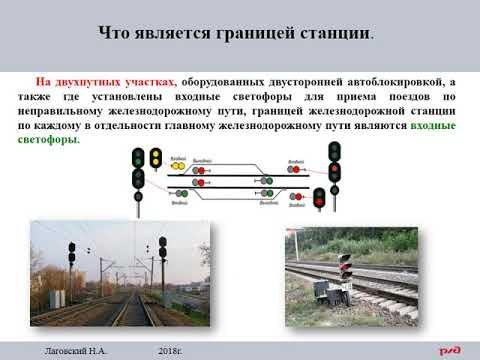 ПТЭ Приложение №6. 7  Раздельные пункты.  Граница станции.