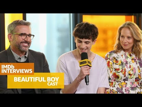 Steve Carell, Timothée Chalamet Talk