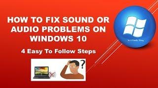 latest windows 10 update sound issues