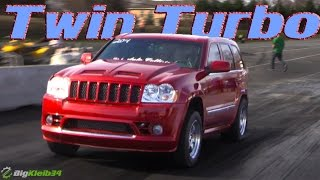9-Second Twin Turbo SRT-8 Grand Cherokee is a SAVAGE