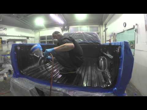 Spray Bed Liner >> Scorpion Spray-in Bed-Liner - YouTube