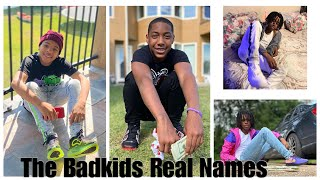 The Badkids Real Names 😱