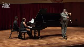 STS 2018 - Faculty Recital 2 - Colin Williams - Morceau Symphonique
