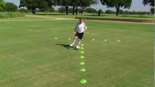 First Touch Training Precision Dribbling Series: Volume 1 (Progression 12 Excerpt)