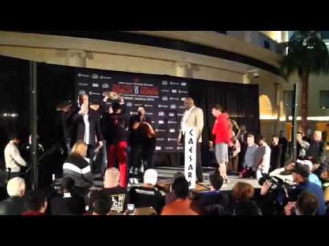 Kovalev vs Agnew weigh in Atlantic City #1