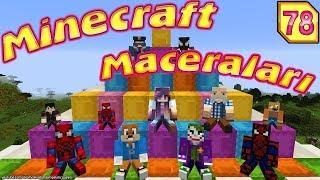 TATLI MOMO MiNECRAFT'TA (Örümcek Adam Çok Kızdı Minecraft Maceraları)