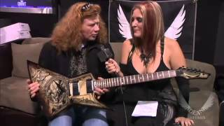 Megadeth - Dave Mustaine Interview with Full Metal Jackie (NAMM 2013)