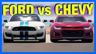 Forza Horizon 3 Online : FORD vs CHEVY!!