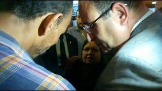 محافظ الإسكندرية يستجيب لشكوى عجوز تعيش في غرفة غير آدمية