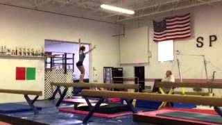 Jaylene Everett Level 10 Tour Jete 1/4 Beam Class of 2016.