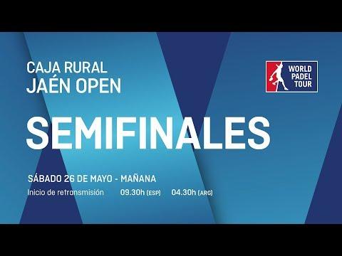 Semifinales - Mañana - Caja Rural Jaén Open - World Padel Tour