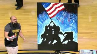 @MizzouHoops National Anthem - Joe Everson vs. Kentucky