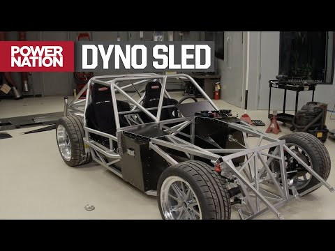 Rolling Dyno, Building our Test Sled for Big Horse Power - Engine Power S6, E11