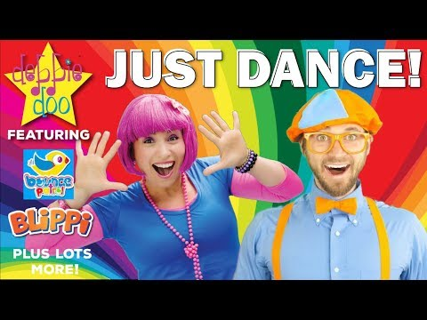 Just Dance | Featuring Blippi, Bounce Patrol and more! | Dance Songs For Kids