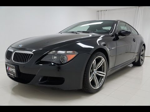 2007 bmw m6 e63 v10 500hp smg coupe youtube. Black Bedroom Furniture Sets. Home Design Ideas