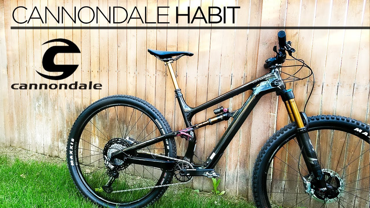 63f08ddc0a8 2019 Cannondale Habit Carbon 1 Test Ride & Review - YouTube