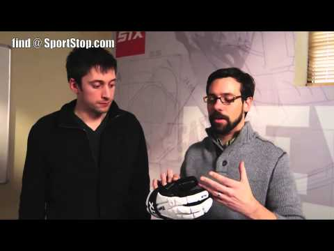 STX Shield Pro Lacrosse Goalie Gloves - Brand Video - SportStop.com