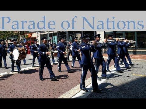 Norfolk Nato Festival Parade of Nations 2018