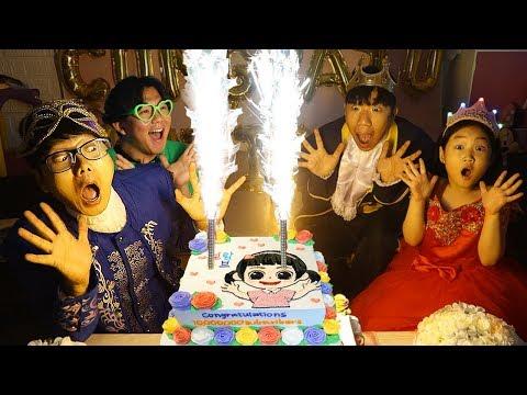 보람이의 생일축하 파티 놀이 Boram And Happy Birthday Party