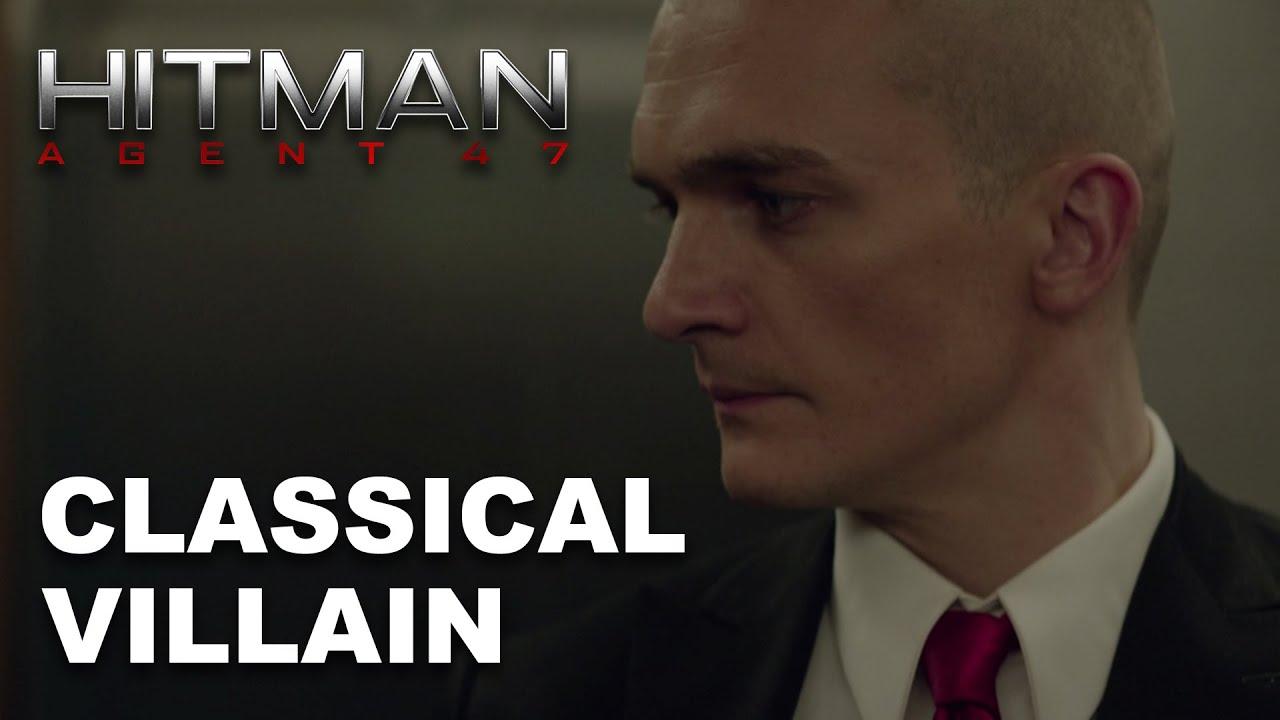 Hitman Agent 47 Classical Villain Hd