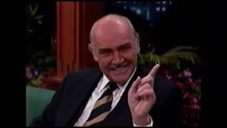 SEAN CONNERY HAS FUN WITH JAY LENO