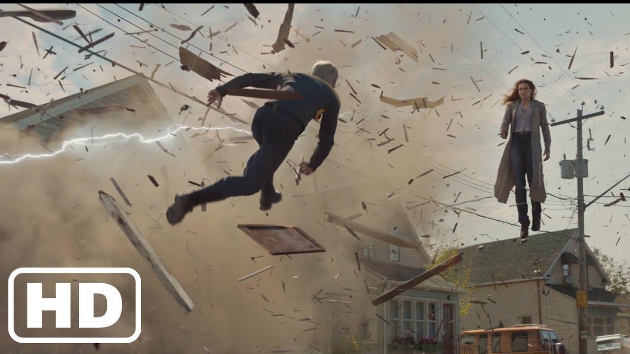 Download X-Men : Dark Phoenix (2019) - Jean lose control - Fight Scenes of Jean