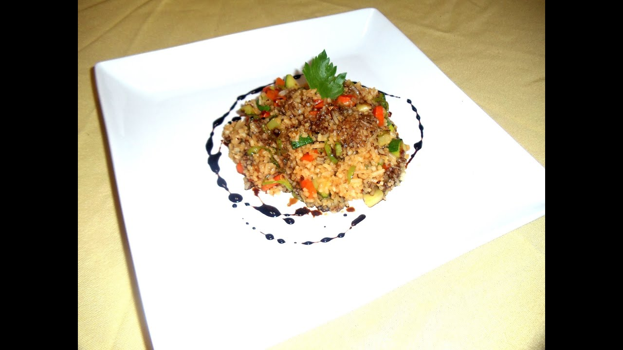 Vegetable fried rice with balsamic reduction youtube vegetable fried rice with balsamic reduction ccuart Image collections