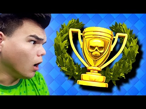 HOW TO GET LEGENDARY TROPHIES! (Clash Royale)