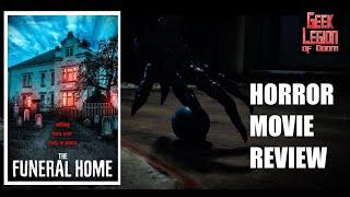 THE FUNERAL HOME ( 2020 Luis Machín ) aka La Funeraria Horror Movie Review