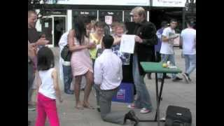 Street Magic - Best Surprise Marriage Proposal Ever!!