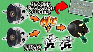 PRIVATE HACKED SERVER IN MOPE.IO!? NEW BEST COPS VS ROBBERS GAMEMODE! (Mope.io)