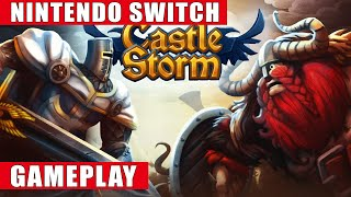 Castlestorm Nintendo Switch Gameplay