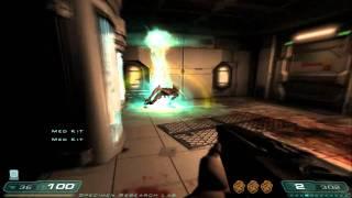 DOOM 3 Resurrection of Evil walkthrough HD Level 11 Delta Labs - Unknown