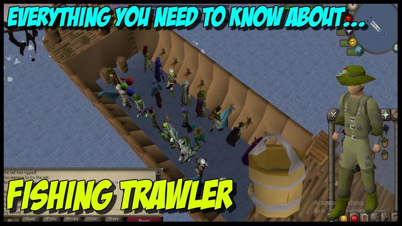 OSRS Guides - Everything You Need to Know About Fishing Trawler