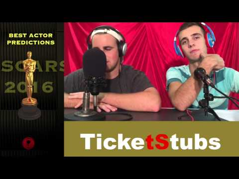 TicketStubs OSCARS 2016: Best Actor
