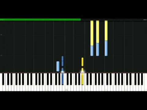 Moby - Porcelain [Piano Tutorial] Synthesia | passkeypiano