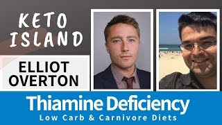 Elliot Overton on Thiamine Deficiency & LCHF - Interview with Keto Island