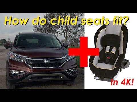 2015 Honda CR-V Child Seat Review - In 4K