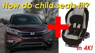 2015 Honda CR-V Child Seat Review - In 4K