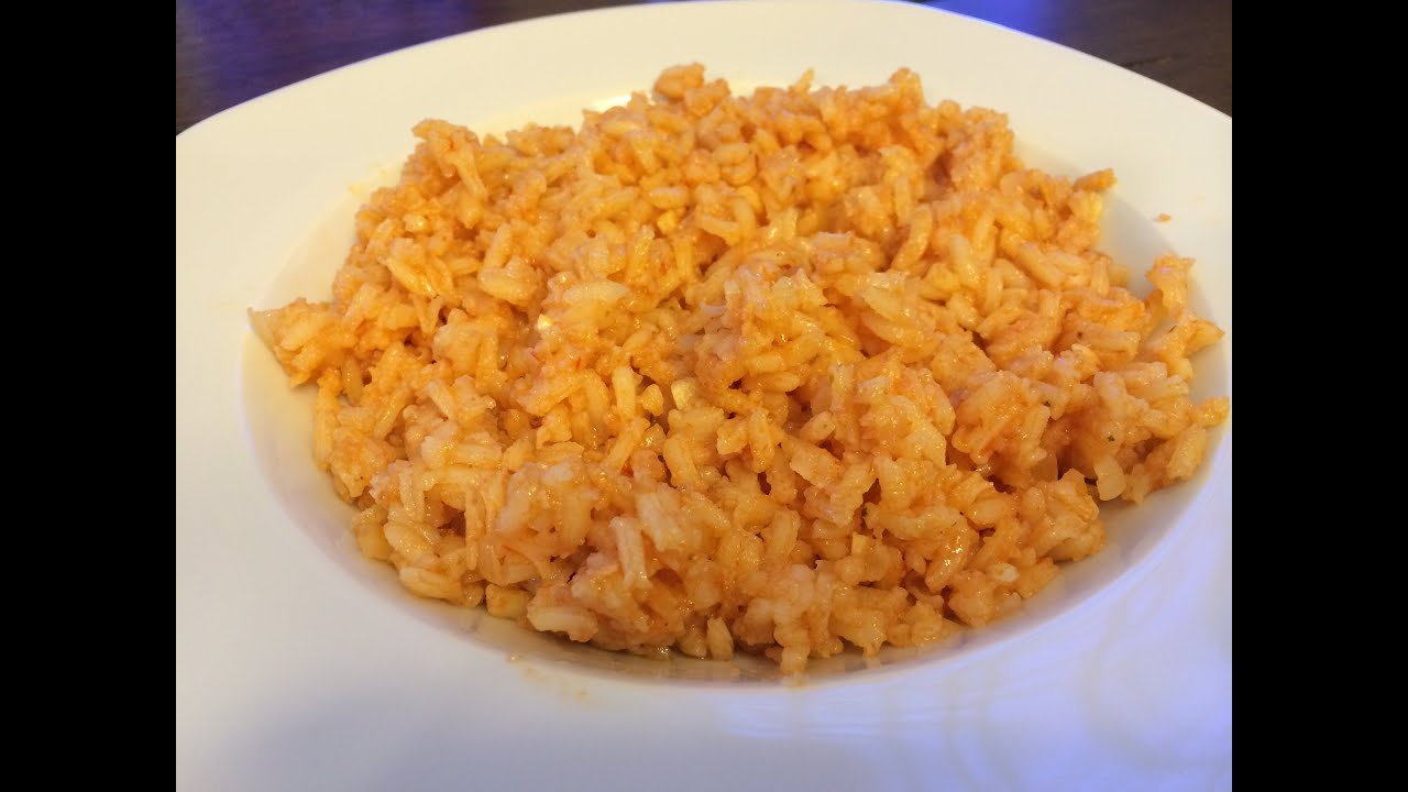 Mexican Rice - YouTube