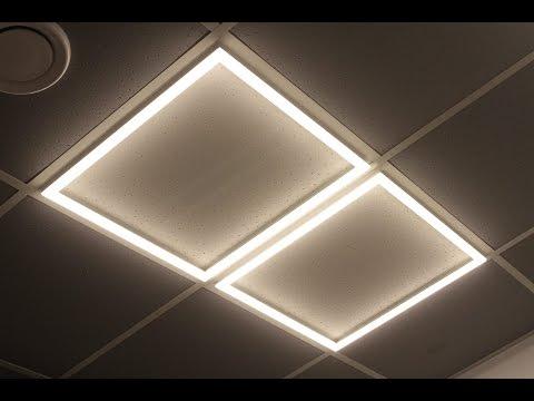 Новинка в офисном освещении- светодиодный светильник MASQ-600.