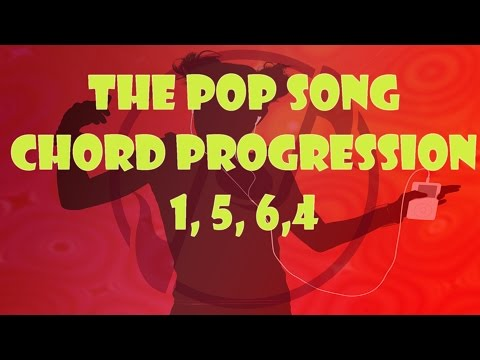 Learn The 4 Chord Popular Song Chord Progression - Piano Tutorial for Popular Songs