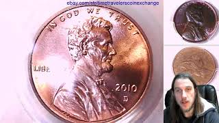 Coin Video of 2010 D Lincoln Shield Cent PCGS MS 65 RD 16169612 Video