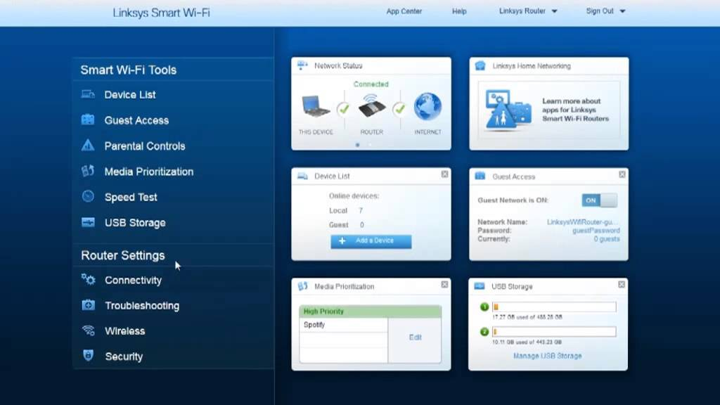 an intro to linksys smart wi fi wireless router software youtube