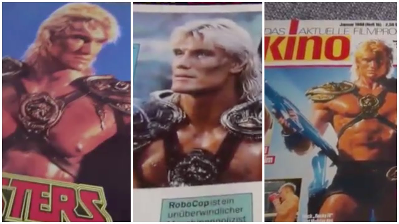 The 1987 Masters of the Universe Movie German Coverage & Promo Magazine